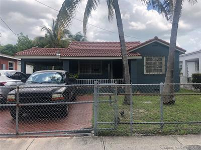 Miami Single Family Home For Sale: 911 SW 25th Ave