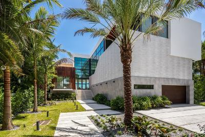 Bal Harbour, Bay Harbor Islands, Coconut Grove, Coral Gables, Hallandale, Miami, Miami Beach, North Miami Beach, Surfside Single Family Home For Sale: 7311 Belle Meade Island Dr