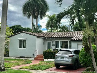 Hollywood Single Family Home For Sale: 1528 Wiley