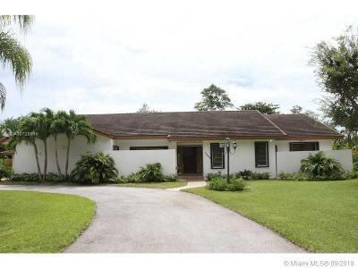 Pinecrest Single Family Home For Sale: 7880 SW 129th Ter