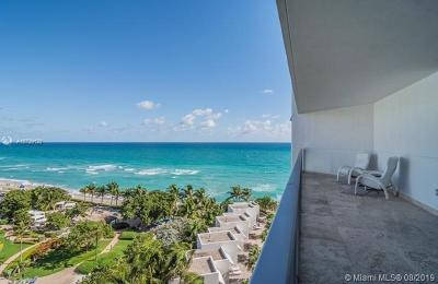 Condo/Townhouse For Sale: 3101 S Ocean Dr #907