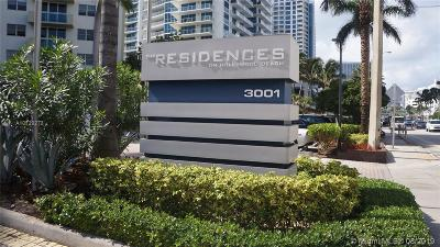 Condo/Townhouse For Sale: 3001 S Ocean Dr #523