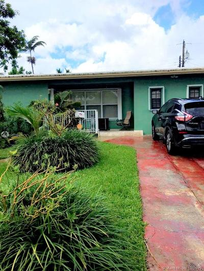 Miami Gardens Single Family Home For Sale: 19530 NW 11th Ave