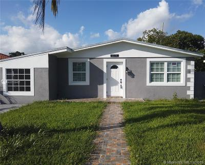 Miami Single Family Home For Sale: 6675 SW 36th St