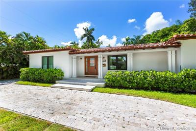 Coral Gables Single Family Home For Sale: 1540 Mercado Ave