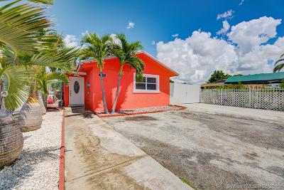 Miami Gardens Single Family Home For Sale: 4521 NW 195th St