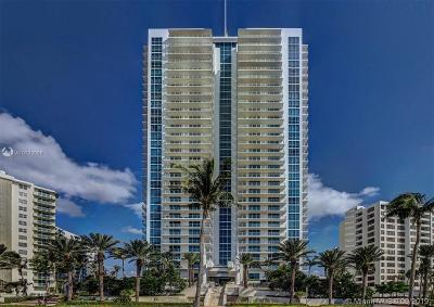 Hollywood Condo/Townhouse For Sale: 3101 S Ocean Dr #3808