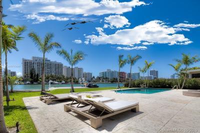 Miami Beach FL Single Family Home For Sale: $5,650,000