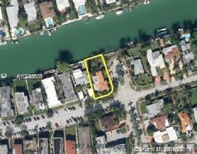 Miami Beach FL Single Family Home For Sale: $1,375,000
