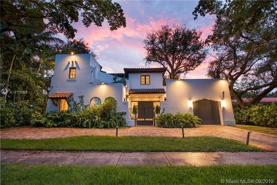 Coral Gables Single Family Home For Sale: 1502 Ferdinand St
