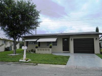 Margate Single Family Home For Sale: 1110 NW 70th Ln