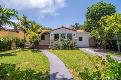 Miami Beach FL Single Family Home For Sale: $649,000