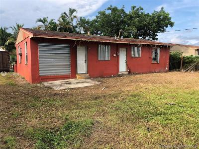 Miami Gardens Single Family Home For Sale: 3010 NW 158th St