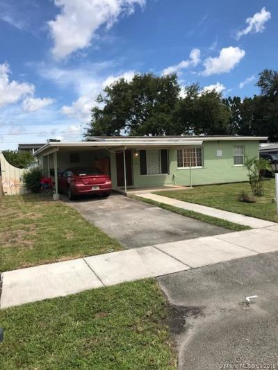 West Park Single Family Home For Sale: 3601 SW 41st St