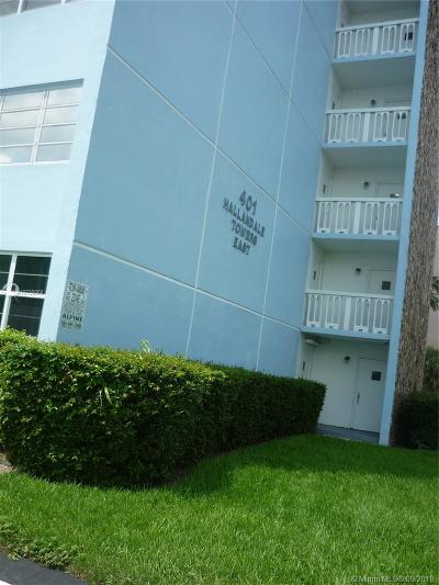 Hallandale Condo/Townhouse For Sale: 401 S 14th Ave #102