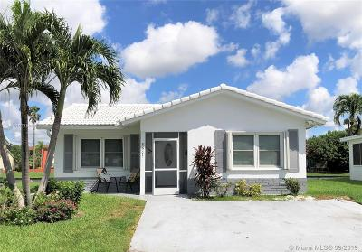 Tamarac Single Family Home For Sale: 8501 NW 59th Pl
