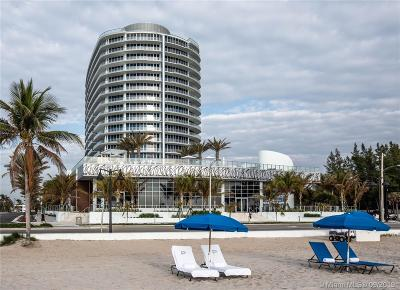 Fort Lauderdale Condo/Townhouse For Sale: 701 N Fort Lauderdale Beach Blvd #TH1