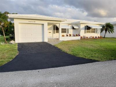 Pompano Beach Single Family Home For Sale: 2750 NW 4th Ave