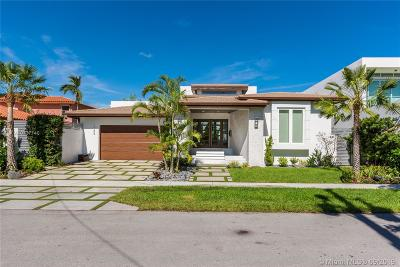 Miami Beach FL Single Family Home For Sale: $5,300,000
