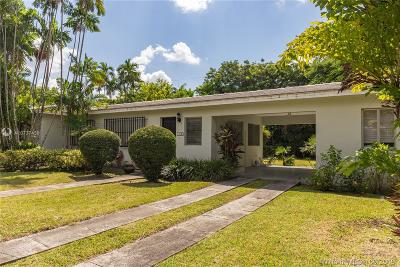 Coral Gables Single Family Home For Sale: 1412 Madrid St