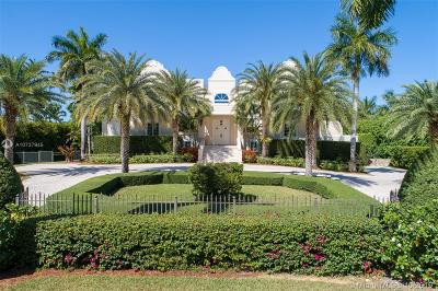 Coral Gables FL Single Family Home For Sale: $12,900,000