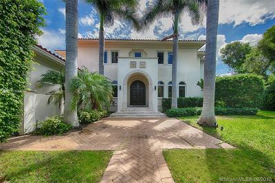 Bay Harbor Islands Single Family Home For Sale: 9601 E Broadview Dr