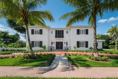Coral Gables Single Family Home For Sale: 1346 S Greenway Dr