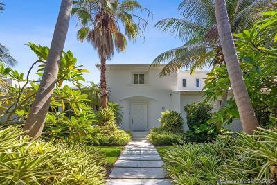 Miami Beach Single Family Home For Sale: 5763 N Bay Rd