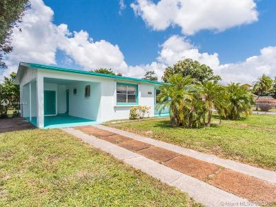 Lauderhill Single Family Home For Sale: 3471 NW 1st St