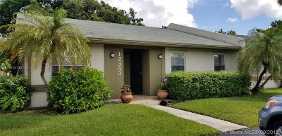 Miami Single Family Home For Sale: 12353 SW 111th Ln