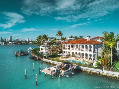Miami Beach Single Family Home For Sale: 27 E Dilido Dr