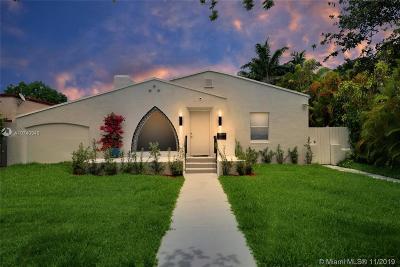 Miami Beach Single Family Home For Sale: 1384 Biarritz Dr