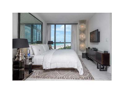 W Hotel, W Hotel & Residences, The W South Beach, W South Beach, W South Beach Reside, W South Beach Residences Rental For Rent: 2201 Collins #1209