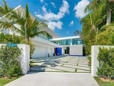 Miami Beach Single Family Home For Sale: 5004 N Bay Rd