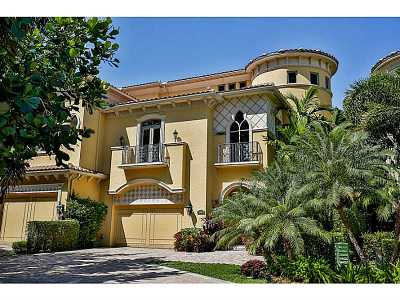 Aventura Single Family Home For Sale: 1522 Island Bl