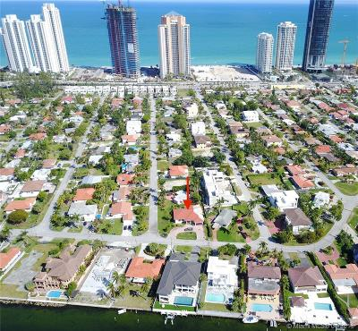 Sunny Isles Beach Single Family Home For Sale: 18911 N Bay Rd
