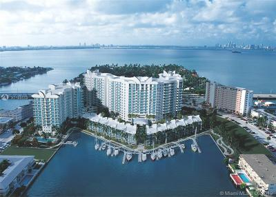 North Bay Village Condo For Sale: 7910 Harbor Island Dr #911