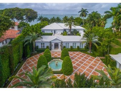 Miami Beach Single Family Home For Sale: 5050 N Bay Rd
