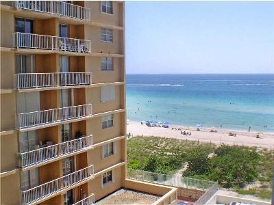 Miami Beach Condo For Sale: 6917 Collins Av #808