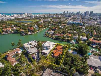 Miami Beach Single Family Home Active-Available: 1400 West 23 St