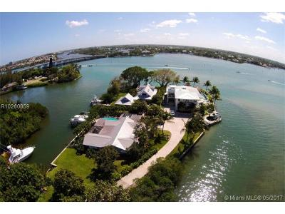 Jupiter Single Family Home For Sale: 50 E Riverside Drive