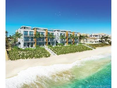 Highland Beach Condo For Sale: 3621 S Ocean Boulevard #3