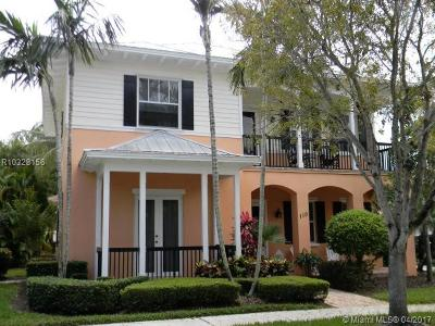 Jupiter Single Family Home For Sale: 110 Inkberry Drive