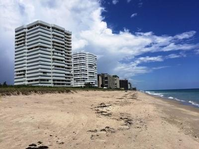 Stuart, Jensen Beach, Hutchinson Island Condo/Townhouse For Sale: 9960 S Ocean