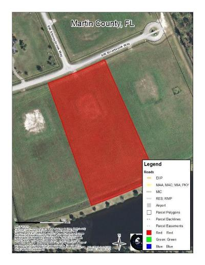 Palm City Residential Lots & Land For Sale: 3150 SW Briarbrook