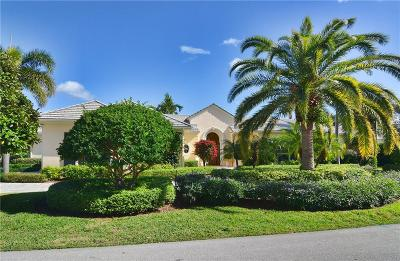 Hobe Sound Single Family Home For Sale: 6951 SE Golfhouse