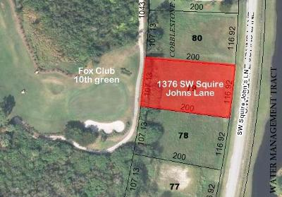 Palm City Single Family Home For Sale: 1376 SW Squire Johns Lane