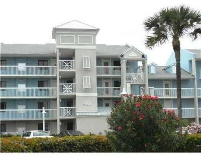 Stuart, Jensen Beach, Hutchinson Island Condo/Townhouse For Sale: 40 NE Plantation #209th