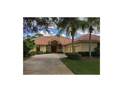 Hobe Sound Single Family Home For Sale: 7749 SE Manhasset
