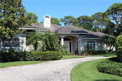 Hobe Sound Single Family Home For Sale: 8095 SE Golfhouse